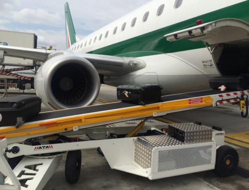 ATA produces its first belt loader for narrow body aircraft