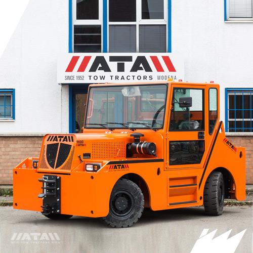 Industrial tractors - ATA Tow Tractors - Modena