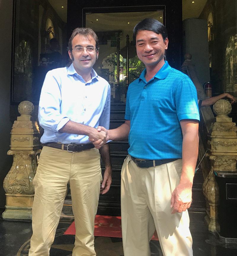 Nuova collaborazione per scale, nastri e prodotti aeroportuali in Viet Nam